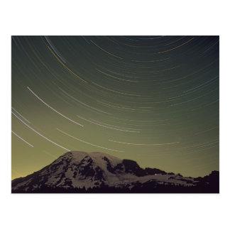 WA, Mount Rainier National Park, Mount Rainier, Postcard