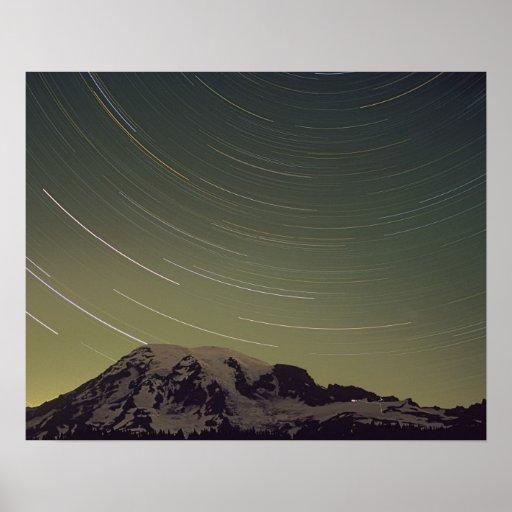 WA, Mount Rainier National Park, Mount Rainier, Poster