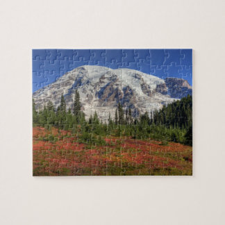 WA, Mt. Rainier National Park, Paradise Valley Jigsaw Puzzle