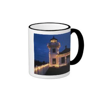 WA, Mukilteo, Mukilteo Lighthouse, established 2 Ringer Mug