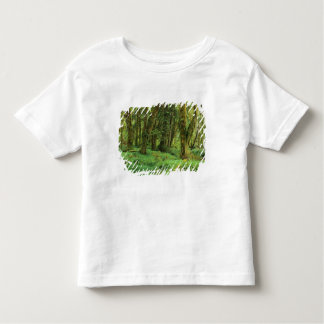 WA, Olympic NP, Quinault Rain Forest, moss Tee Shirt