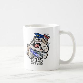 WA Police Angry Dog Coffee Mug