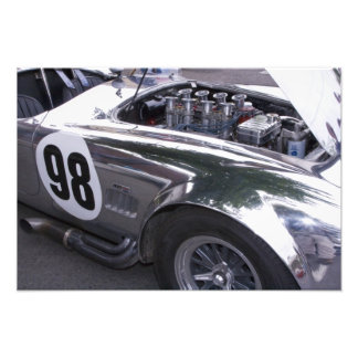 WA, Seattle, classic American automobile. Art Photo