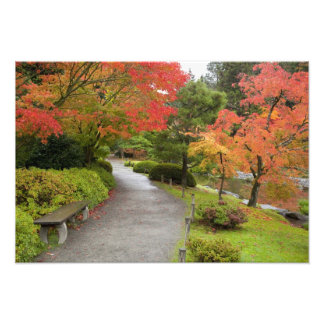 WA, Seattle, Washington Park Arboretum, 2 Art Photo