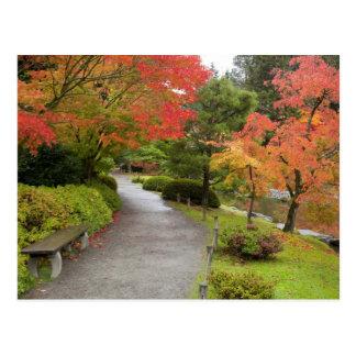 WA, Seattle, Washington Park Arboretum, 2 Postcard