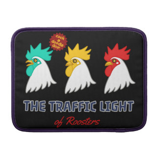 < wa taking signal (for hyperchromic >The traffic MacBook Sleeves