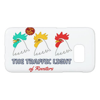 < wa taking signal > The traffic light of roosters