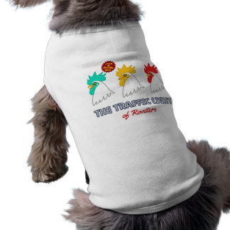 < wa taking signal > The traffic light of roosters Sleeveless Dog Shirt