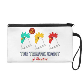 < wa taking signal > The traffic light of roosters Wristlet