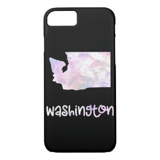 WA Washington State Iridescent Opalescent Pearly iPhone 8/7 Case