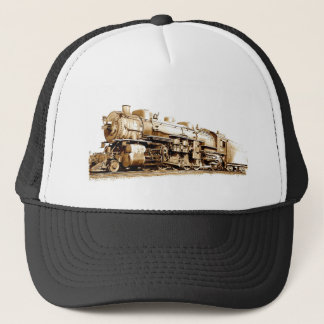 Wabash Train Trucker Hat