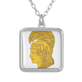WAC Athena Silver Plated Necklace