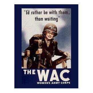 WAC POSTCARD