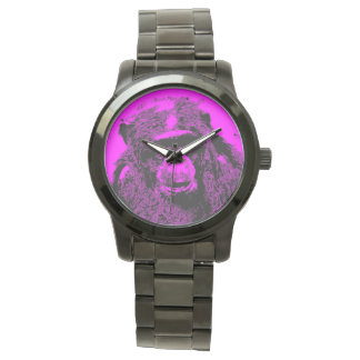 wacky art - chimp pink (C) Watch