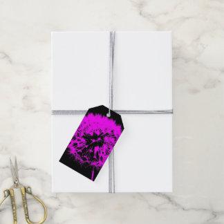 Wacky art -dandelion pink (C)