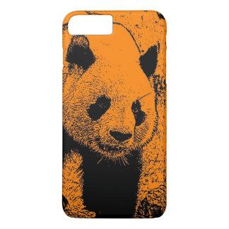 wacky art -panda orange (C) iPhone 7 Plus Case