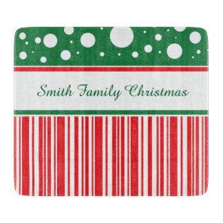 Wacky Christmas Cutting Board