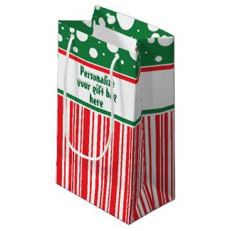 Wacky Christmas Small Gift Bag