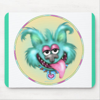 WACKY DOG CUTE ALIEN CARTOON MOUSE PAD 2