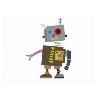 Wacky Robot Postcard