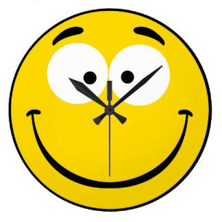 Wacky Smiley Clocks