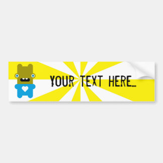 Wacky Wabbit Bumper Stickers