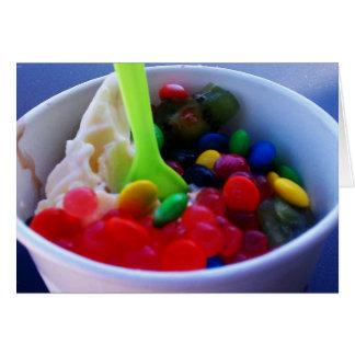 Wacky Yogurt Bright Note Card