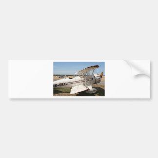 Waco biplane aircraft bumper stickers