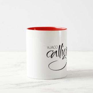 Waco Calligraphy Guild mug