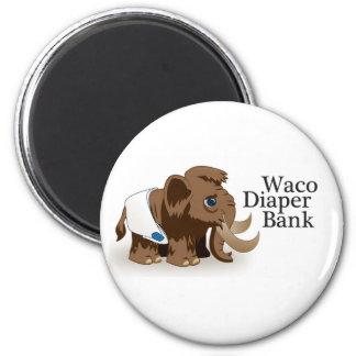 Waco Diaper Bank Magnet