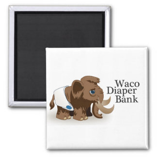 Waco Diaper Bank Magnet