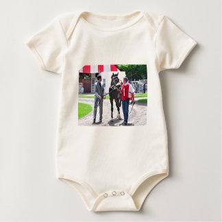 Waco in the Paddock Baby Bodysuit