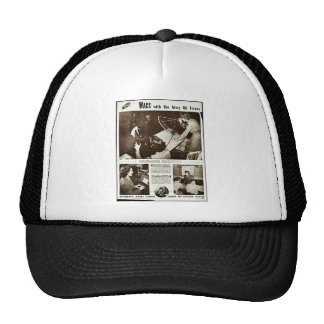 Wacs With The Army Air Forces Trucker Hats