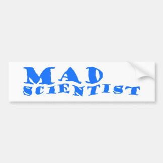 WAD scientist Bumper Sticker