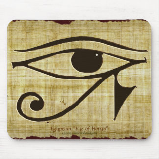 WADJET EYE OF HORUS on Papyrus Gift Series Mousepads