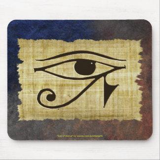 WADJET EYE OF HORUS on Papyrus Mousepad