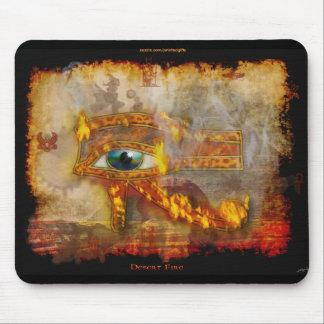 Wadjet Eye of Horus Sacred Egyptian Art Mousepad