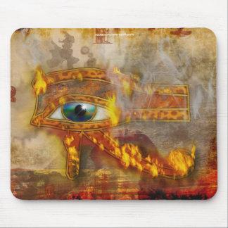 Wadjet, Eye of Horus Sacred Egyptian Art Mousepad