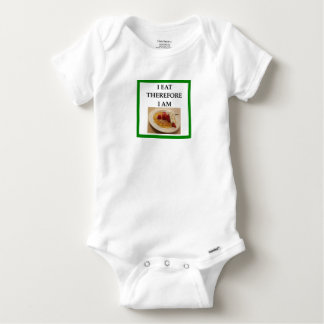 waffle baby onesie