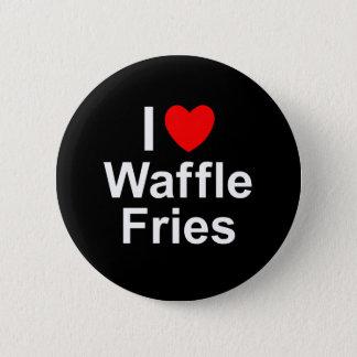 Waffle Fries 6 Cm Round Badge