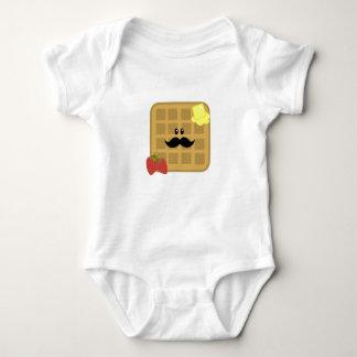 Waffle Man Baby Bodysuit