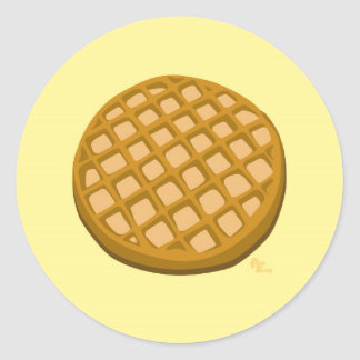Waffle Sticker