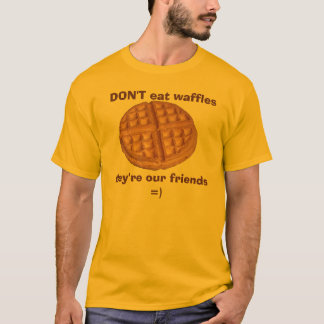 Waffles Rule T-Shirt