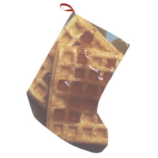 Waffles With Syrup Small Christmas Stocking