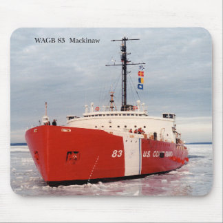 WAGB Mackinaw red mousepad