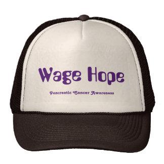 Wage Hope Trucker Hat