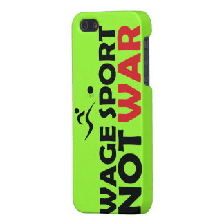 Wage Sport End War iPhone 5 Case Lime - Savvy
