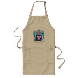 Waggener Coat of Arms - Family Crest Long Apron