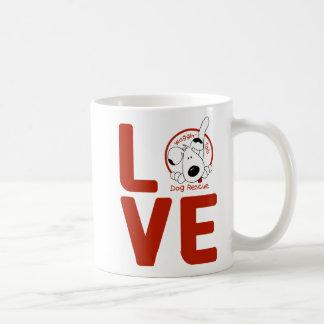 Waggin' Tails LOVE mug