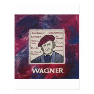 Wagner Postcard